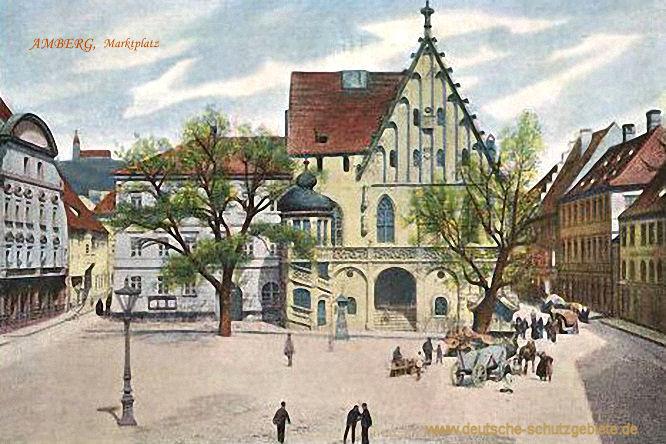 Amberg. Marktplatz