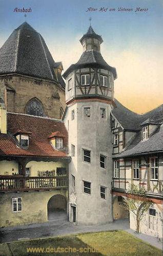 Ansbach, Alter Hof am Unterem Markt