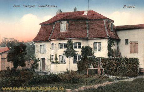 Ansbach, Ehem. Markgräfliches Gartenhäuschen