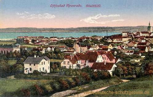 Apenrade, Stadtbild