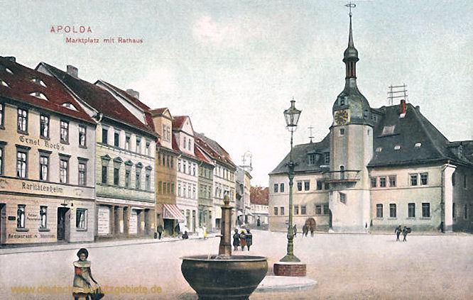 Apolda, Marktplatz