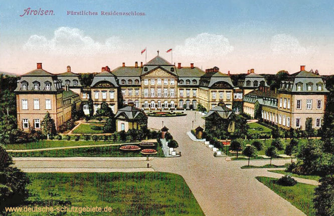 Arolsen, Fürstliches Residenzschloss