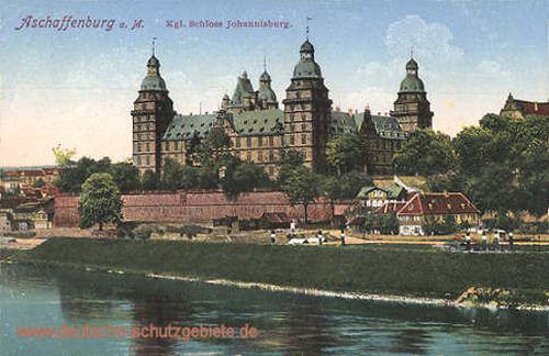 Aschaffenburg a. M., Königliches Schloss Johannisburg