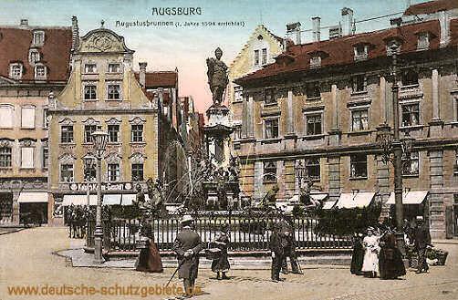 Augsburg, Augustusbrunnen