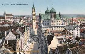 Augsburg, Blick vom Moritzturm