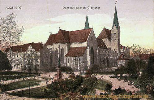 Augsburg, Dom mit bischöflichen Ordinariat
