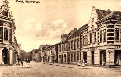 Aurich, Norderstraße