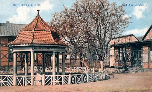 Bad Berka im Großherzogtum Sachsen-Weimar-Eisenach  deutsche-schutzgebiete.de