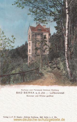 Bad Berka, Schloss Rodberg