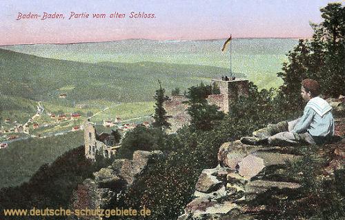 Baden-Baden, Partie vom alten Schloss