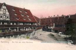 Bamberg, Der Hof der alten Residenz