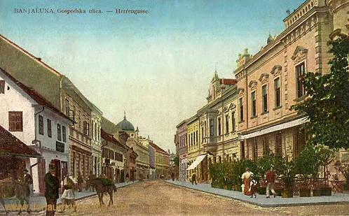 Banjaluka, Herrengasse