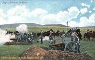 Bayerische Artillerie im Feuer