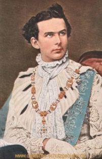 König Ludwig II. als Georgiritter