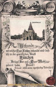 Urkunde München
