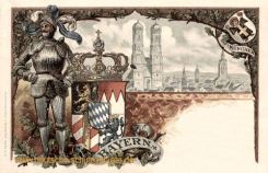 Bayern, Wappen, München