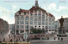 Berlin, Alexanderplatz, Warenhaus Tietz