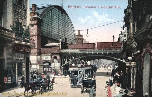 Berlin, Bahnhof Friedrichstraße