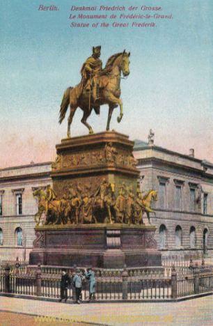 Berlin, Denkmal Friedrich der Große