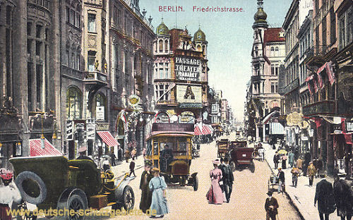 Berlin, Friedrichstraße (Passage-Theater)