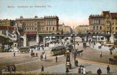 Berlin, Hochbahn am Halleschen Tor