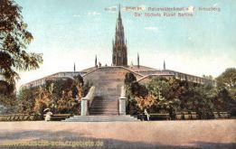 Berlin, Nationaldenkmal a. d. Kreuzberg - Der höchste Punkt Berlins