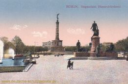 Berlin, Siegessäule, Bismarckdenkmal
