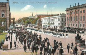Berlin, Unter den Linden, Aufziehen der Schlosswache