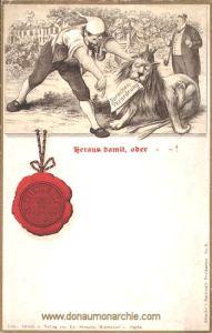 Böhmen, Sprachenverordnung, Heraus damit, oder