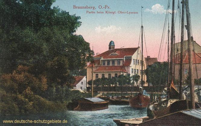 Braunsberg, Partie beim Königlichen Ober-Lyzeum