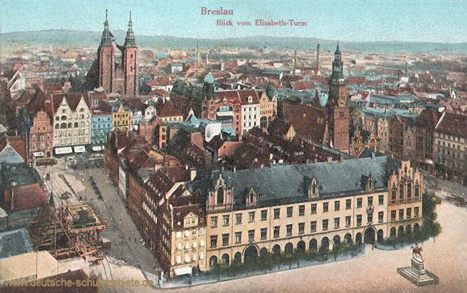 Breslau, Blick vom Elisabeth-Turm