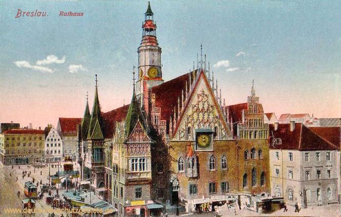 Breslau, Rathaus