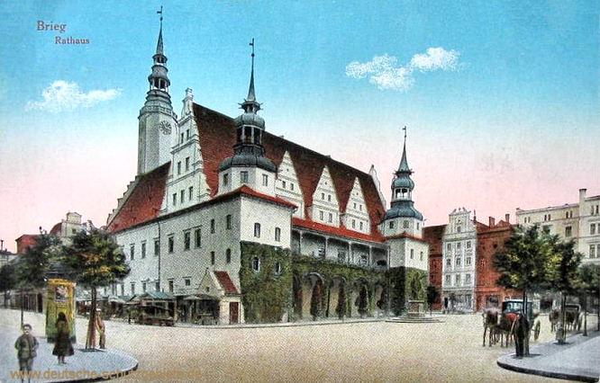Brieg, Rathaus