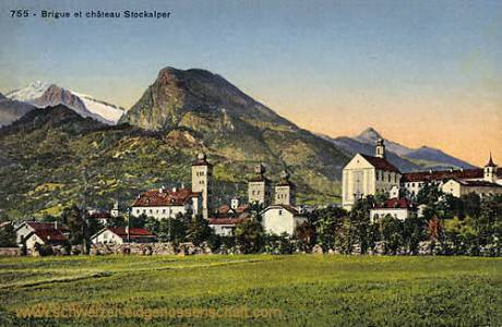 Brigue et château Stockalper