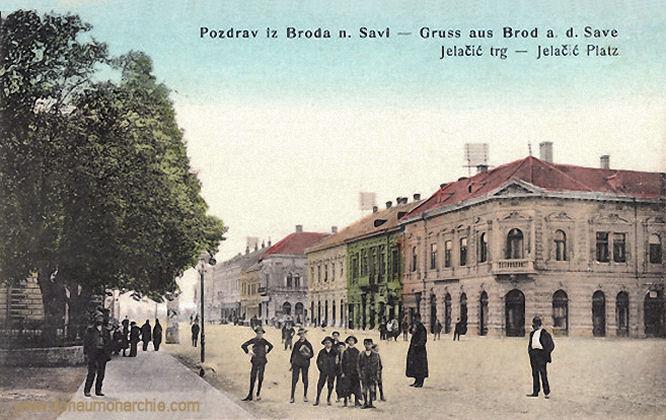 Brod an der Save, Jelačić-Platz