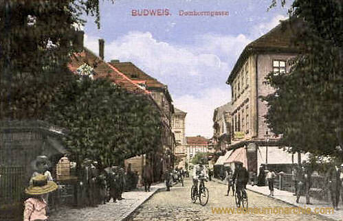 Budweis, Domherrngasse
