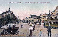 Charlottenburg, Hardenbergstraße mit Ausstellungshallen