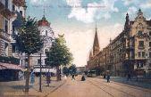 Charlottenburg, Kantstraße Ecke Joachimsthalerstraße
