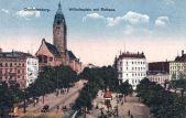 Charlottenburg, Wilhelmplatz mit Rathaus