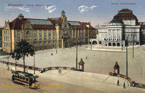 Chemnitz, König Albert-Museum - Neues Stadttheater