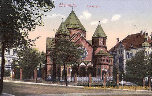 Chemnitz, Synagoge