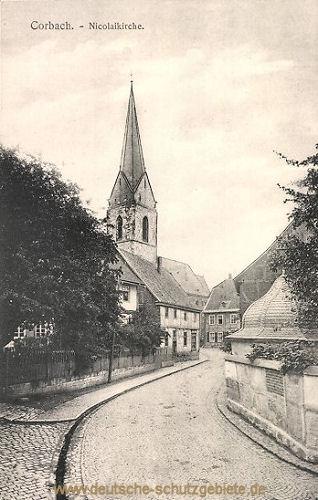 Corbach, Nicolaikirche