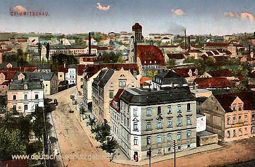 Crimmitschau, Stadtansicht