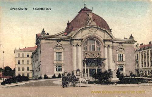 Czernowitz, Stadttheater