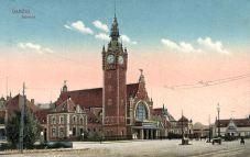 Danzig, Bahnhof