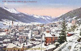 Davos-Platz (1559 m) geg. d. Tinzenhorn