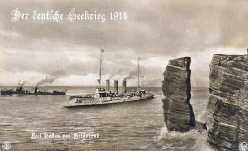 Der deutsche Seekrieg 1914. Auf Posten vor Helgoland