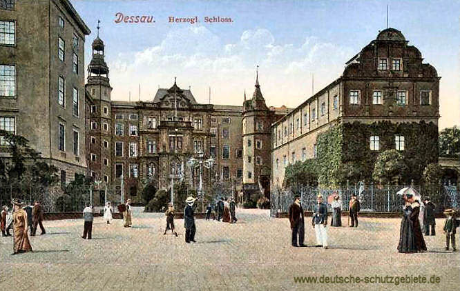 Dessau, Herzogliches Schloss