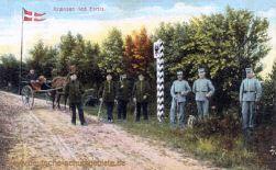 Deutsch-Dänische Grenze bei Farris