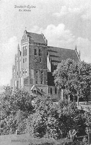 Deutsch-Eylau, Evangelische Kirche